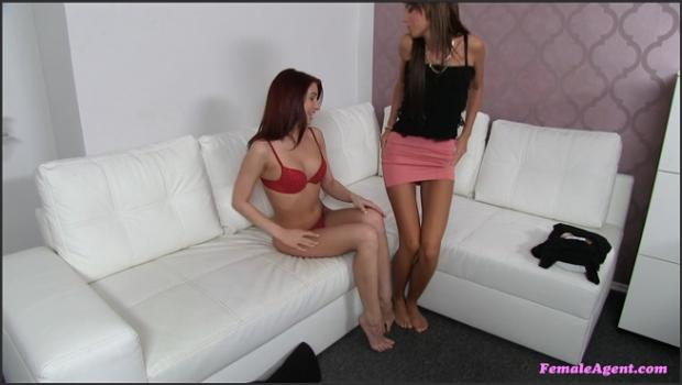 Fakehub.com- Money Motivates Fit Brunette To Go Down On Agent_s Pussy