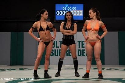 Kink.com- 10th Ranked Audrey Rose vs. Rookie Hannah White!