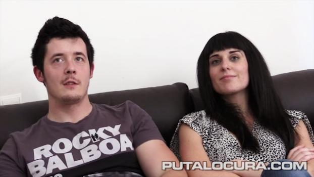 Putalocura.com- Graban su primer video porno - Iris y Zeus