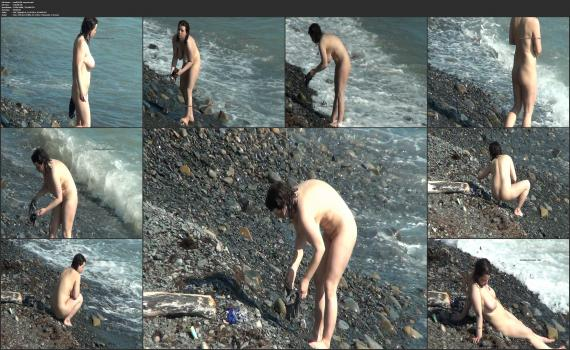 NudeBeachdreams.com- Nudist video 01638-Real nudists, beautiful girl, milf