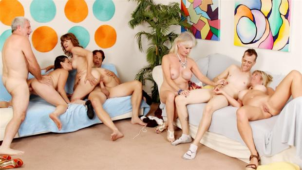 Smutpuppet.com- Aged to Perfection Orgy