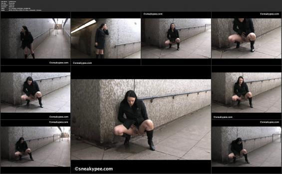 Sneaky pee - p1050