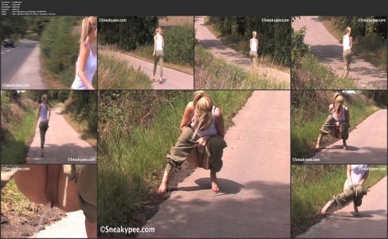 Sneaky pee - p1408