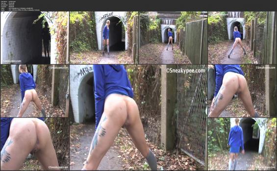 Sneaky pee - p1416