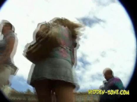 Hidden-Zone.com- Up847# Upskirt video