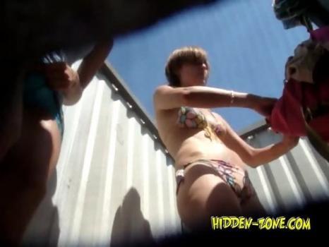 Hidden-Zone.com- Bc795# Hidden camera in the beach cabin