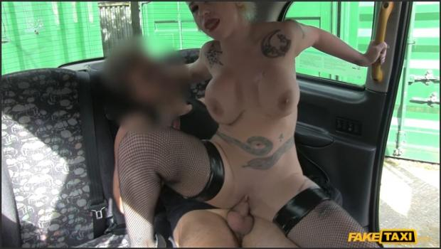 Fakehub.com- Spanish Pixie Haired MILF With Huge Tits Fucks Cabbie For Ride