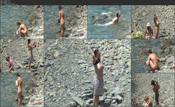 NudeBeachdreams.com- Nudist video 01783-Real nudists, beautiful girl, milf