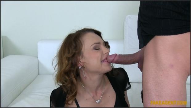 Fakehub.com- Brunette MILF Takes Two Cocks