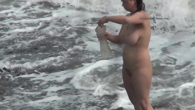 NudeBeachdreams.com- Nudist video 01803-Real nudists, beautiful girl, milf