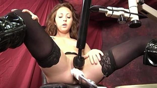 Homegrownvideo.com- Nikki Gets Her Tight Hole Jerked Off With A Sex Machine