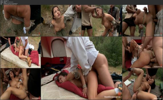 Kink.com- Busty Camper gets a Surprise Creampie-John Strong, Toni Ribas, Karlo Karrera, James Deen, Mr. Pete, Mark Davis, Charity Bangs