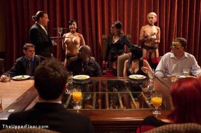 Kink.com- Community Dinner:Table Service