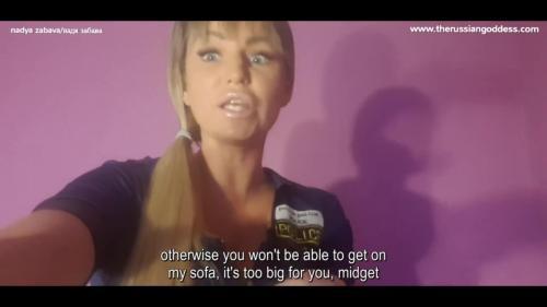 Nadya Zabava - Pathetic Midget, Get Over Here! [ENG SUB]