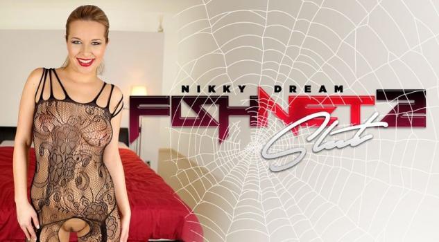 Vrporn.com- Fishnet Slut 2-Nikky Dream European Hardcore Sex VR POV