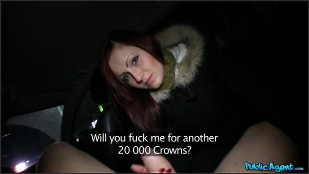 Fakehub.com- Pale Cutie Cheats On Boyfriend To Drain The Cum From A Big Dick